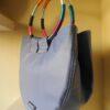 Bolso playero azul