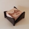 Juego de posavasos serie Europa Central Caja de madera oscura