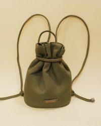 Mochila saco verde